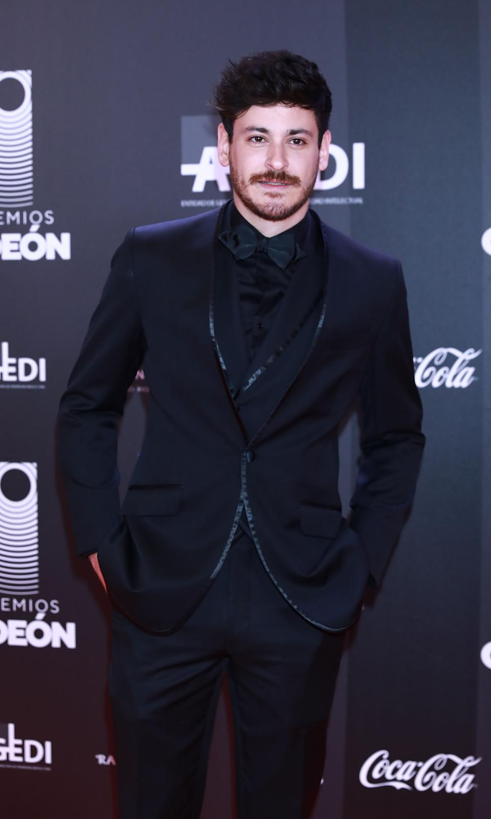 MADRID, SPAIN - JANUARY 20: Spanish singer Luis Cepeda attends Odeon Awards 2020 at Royal Theater on January 20, 2020 in Madrid, Spain. (Photo by Europa Press Entertainment/Europa Press via Getty Images)