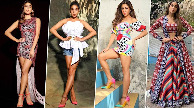 Sara Ali Khan's Style File for Love Aaj Kal Promotions was Sugar, Spice and Everything Nice (View Pics)
