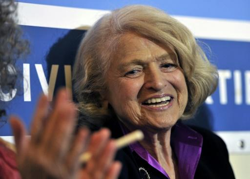 Kämpfte für die Homoehe in den USA: Edith Windsor