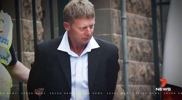 Maxwell John Pain is accused of shooting David Paris dead, at close range, in the stomach. Picture: 7 News