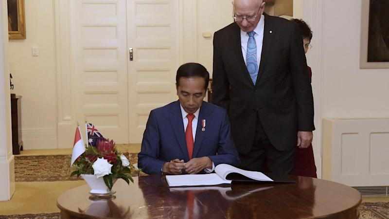 Indonesian President Joko Widodo will sign-off on a lucrative trade agreement with Australia