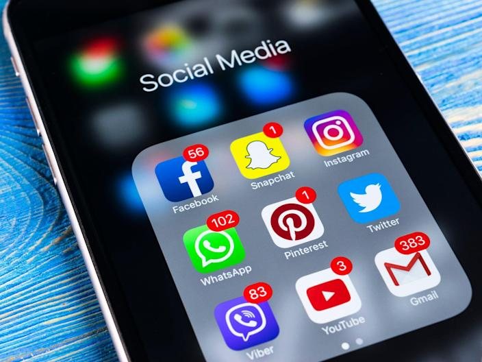 Some social media apps have taken steps to mitigate fears of addiction by introducing tools which allow users to monitor and restrict their time on the platforms (iStock)