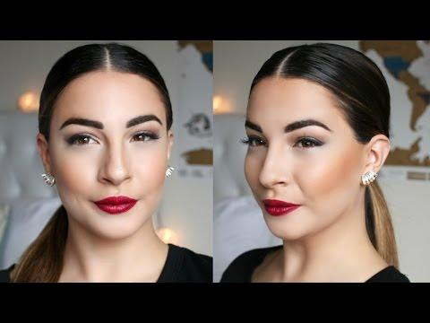 "<p>Seen on celebs like Kim Kardashian, Chrissy Teigen, and Selena Gomez, the low, sleek pony is a polished look that can be worn at the office and formal events. It's pretty simple to put together, as shown in this tutorial: All you need is a tail comb, hairspray, hair gel, hair tie, and a toothbrush.</p><p><a href=""https://www.youtube.com/watch?v=7IiW1V3kC_M"">See the original post on Youtube</a></p>"