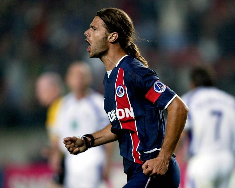 Pochettino played for PSG between 2001 and 2003