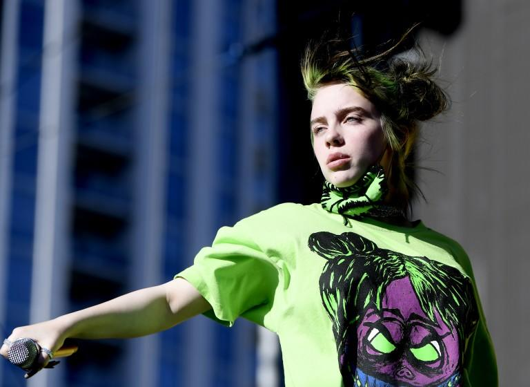 Billie Eilish performs onstage during the 2019 iHeartRadio Music Festival.