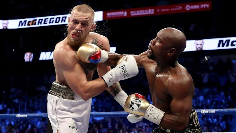 Mayweather's record is now 50-0. Pic: Getty