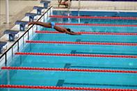 <p>In one of the biggest technical flukes of all time, Eric Moussambani from Equatorial Guinea, who had learned how to swim only eight months prior to the events, swam alone after his competitors were disqualified. He set a world record that day for the slowest Olympic time. </p>
