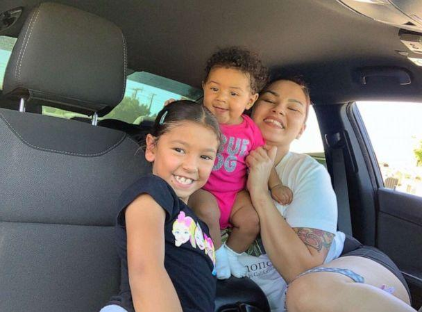 PHOTO: Maria Khachotamraz of California, poses in a recent photo with her daughters Amelia, 7 and Camila, 9 months. (Maria Khachotamraz)