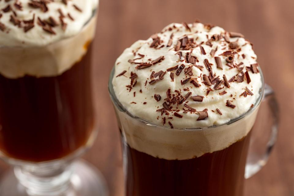 """<p>On St. Patrick's Day, you need to have a drink in your hand (or, you know, one in each hand). The celebratory holidays calls for Baileys, or Guinness, or maybeee even some Lucky Charms Shots. If you need some food to go with those drinks, try our <a href=""""https://www.delish.com/holiday-recipes/g2009/traditional-irish-food/"""" rel=""""nofollow noopener"""" target=""""_blank"""" data-ylk=""""slk:Irish-inspired dinners"""" class=""""link rapid-noclick-resp"""">Irish-inspired dinners</a> and <a href=""""http://www.delish.com/holiday-recipes/g3300/corned-beef/"""" rel=""""nofollow noopener"""" target=""""_blank"""" data-ylk=""""slk:best corned beef recipes"""" class=""""link rapid-noclick-resp"""">best corned beef recipes</a>.</p>"""