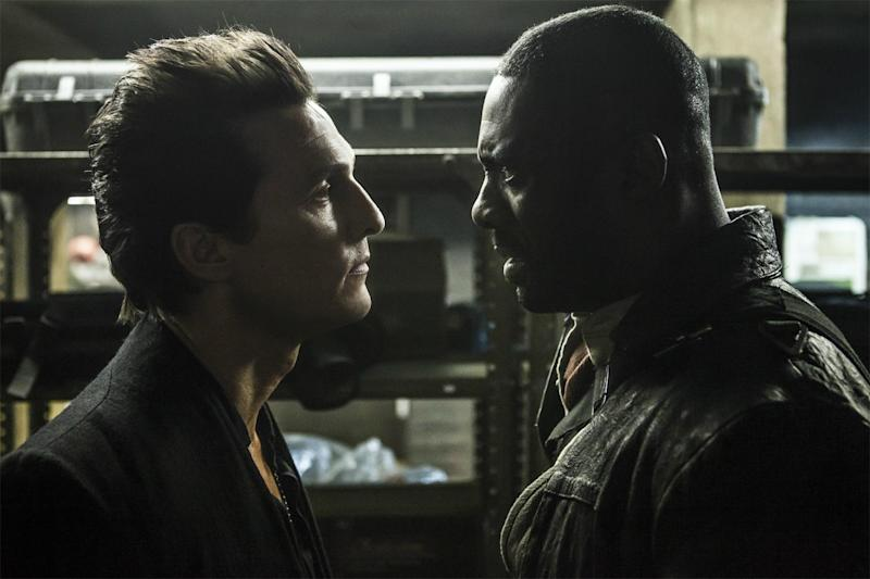 Matthew McConaughey and Idris Elba in The Dark Tower (Sony Pictures)