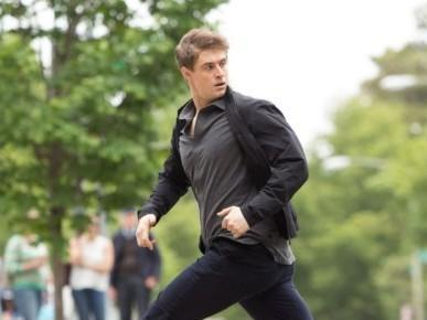 Max Irons as Joe Turner in the second series of 'Condor' (Sky 1)