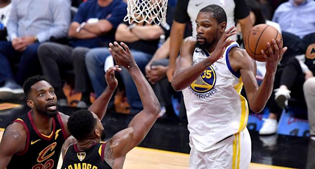 The Rush: King James vs Kevin Durant Game 3 duel is a doozy