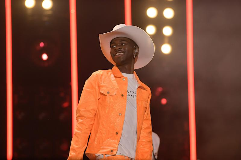 Lil Nas X performs onstage during day 3 of the 2019 CMA Music Festival on June 8, 2019 in Nashville, Tennessee. (Photo by Jason Kempin/Getty Images)