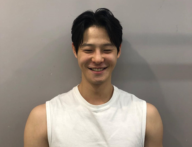 Korean actor Cha In-ha exuded positive energy in a video released by his company in November. He was found dead at his home on Monday afternoon. — Picture via Instagram