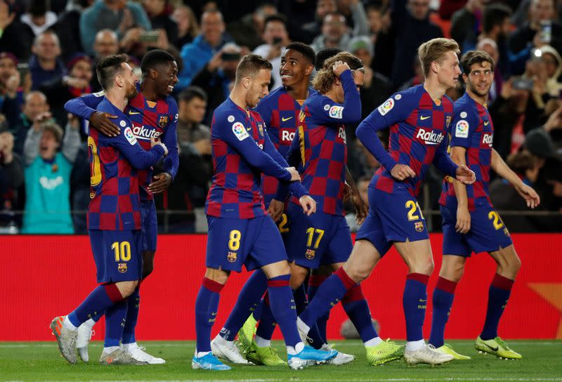 Barca start process to reduce salaries due to COVID-19 losses