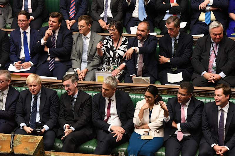 MPs have voted to seize control of the Commons agenda today (VIA REUTERS)