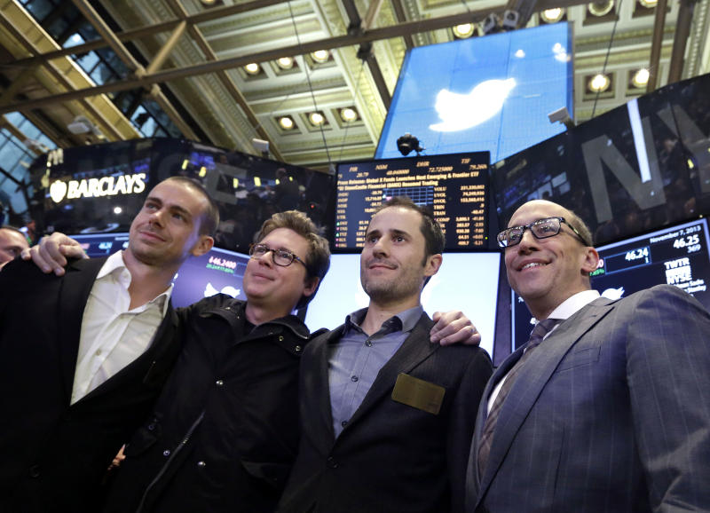 TWITTER IPO LIVE: Competition as Twitter debuts