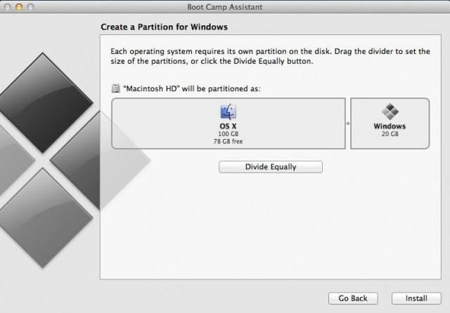 Creating a Windows Partition on Mac