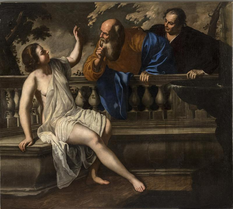 Artemisia Gentileschi, Susanna and the Elders, 1652