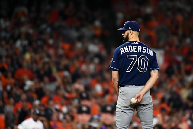 Is Nick Anderson really worth his current ADP? (Photo by Cooper Neill/MLB Photos via Getty Images)