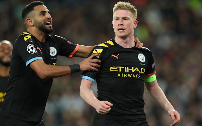 Manchester City beat Real Madrid in the first leg of their Champions League Round of 16 tie in February before lockdown