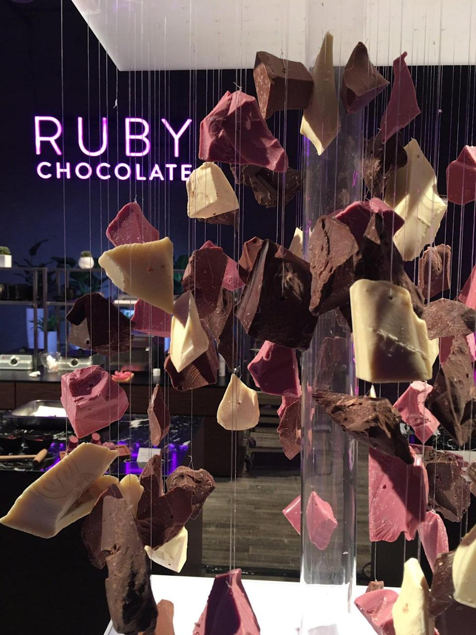 The new confectionery was launched to a panel of chocolate experts in Shanghai (Barry Callebaut)