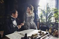"""<p><em>Masterpiece PBS</em> <a class=""""link rapid-noclick-resp"""" href=""""https://www.pbs.org/wgbh/masterpiece/shows/victoria/episodes/"""" rel=""""nofollow noopener"""" target=""""_blank"""" data-ylk=""""slk:Watch Now"""">Watch Now</a><br></p><p>The <a href=""""https://www.townandcountrymag.com/leisure/arts-and-culture/a14532507/victoria-season-3/"""" rel=""""nofollow noopener"""" target=""""_blank"""" data-ylk=""""slk:third season of Victoria"""" class=""""link rapid-noclick-resp"""">third season of <em>Victoria</em></a> opens with an uprising. And just as King Louis Phillipe escapes his palace through a tunnel, the scene cuts to Queen Victoria, a crown firmly placed upon her head, her hand resting on her very pregnant belly. The juxtaposition is hardly subtle, and it previews what's to come over the next eight episodes: new babies and new challenges for the young British monarch, both in her kingdom and her marriage.</p>"""