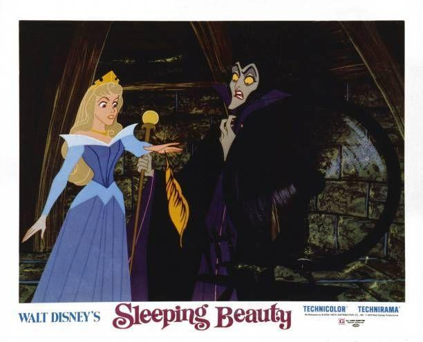 """<p>Long before she was played by Angelina Jolie, this Maleficent was terrifying kids in the 1959 Disney animated film, <a href=""""https://www.amazon.com/Sleeping-Beauty-Mary-Costa/dp/B018H3AWHW/?tag=syn-yahoo-20&ascsubtag=%5Bartid%7C10055.g.34403196%5Bsrc%7Cyahoo-us"""" rel=""""nofollow noopener"""" target=""""_blank"""" data-ylk=""""slk:Sleeping Beauty."""" class=""""link rapid-noclick-resp""""><em>Sleeping Beauty.</em></a> The part when she turns into a dragon still gives us nightmares!</p>"""