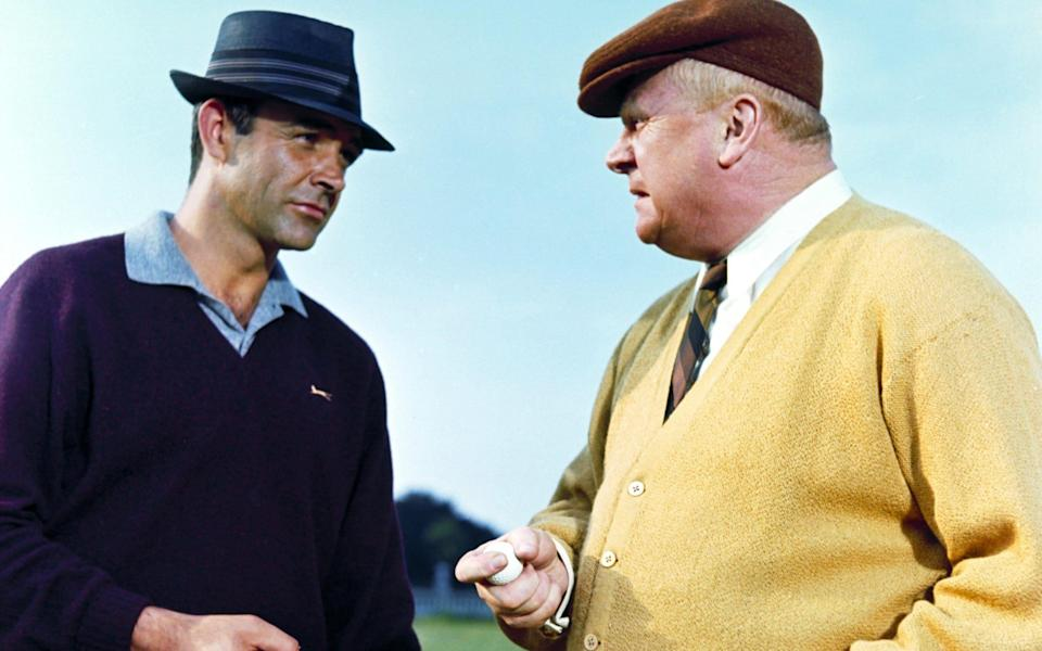 Bond triumphs on the 18th hole courtesy of a cunning plan - AF ARCHIVE/ALAMY