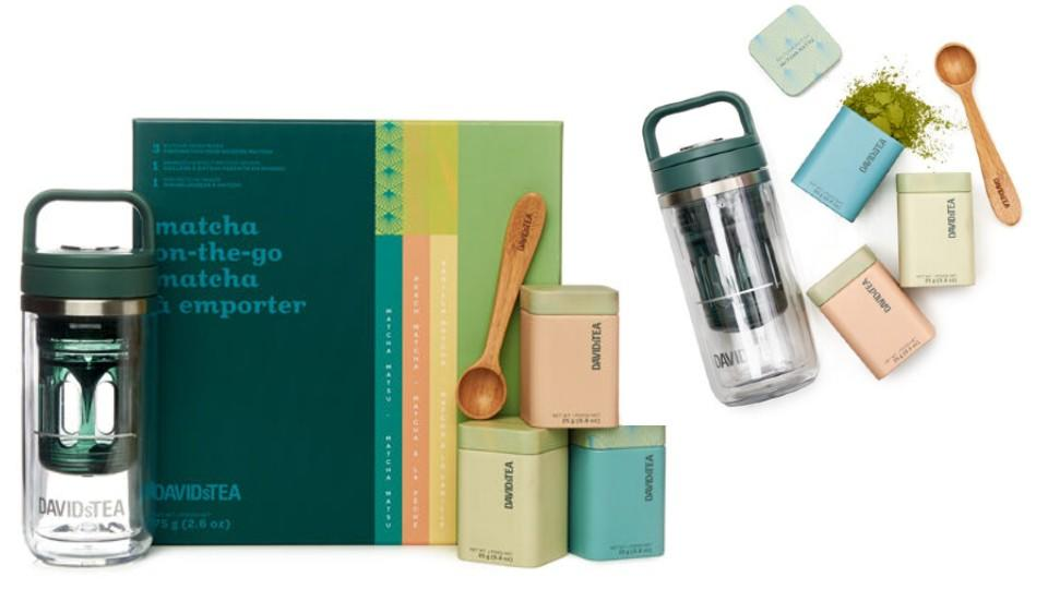 matcha on-the-go - DAVIDsTEA, $45