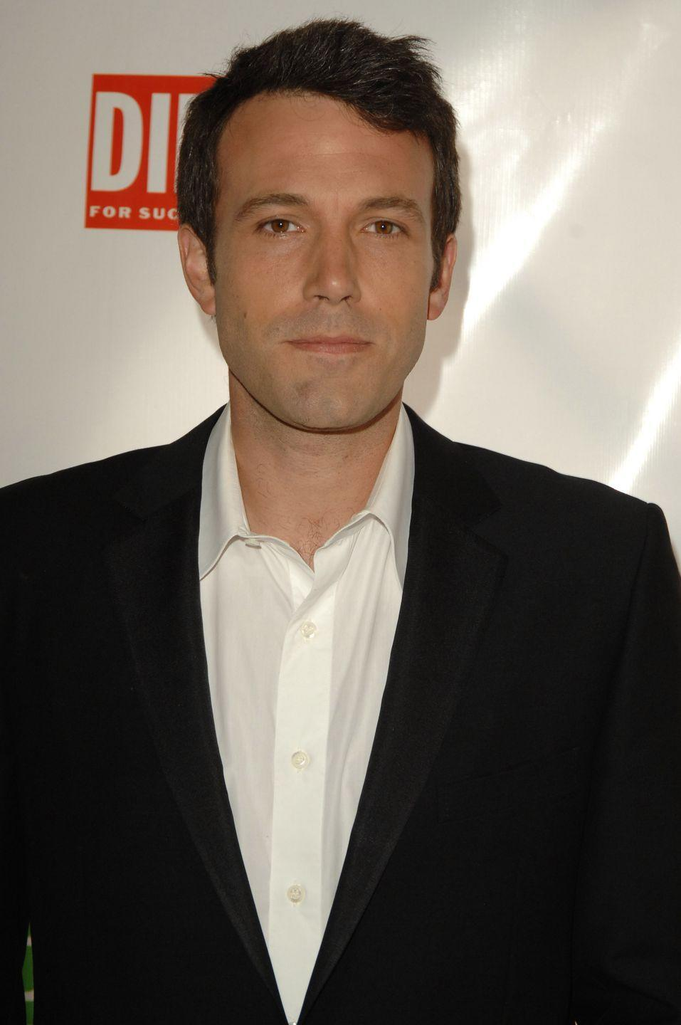 <p>Affleck used to go without scruff when he first started out in the industry. Now? Not so much.</p>