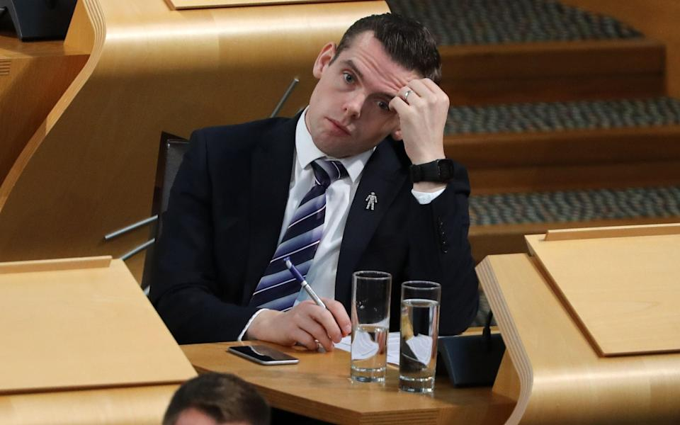 "Scottish Conservative leader Douglas Ross has accused the Scottish Government of ""shifting answers"" - PA"