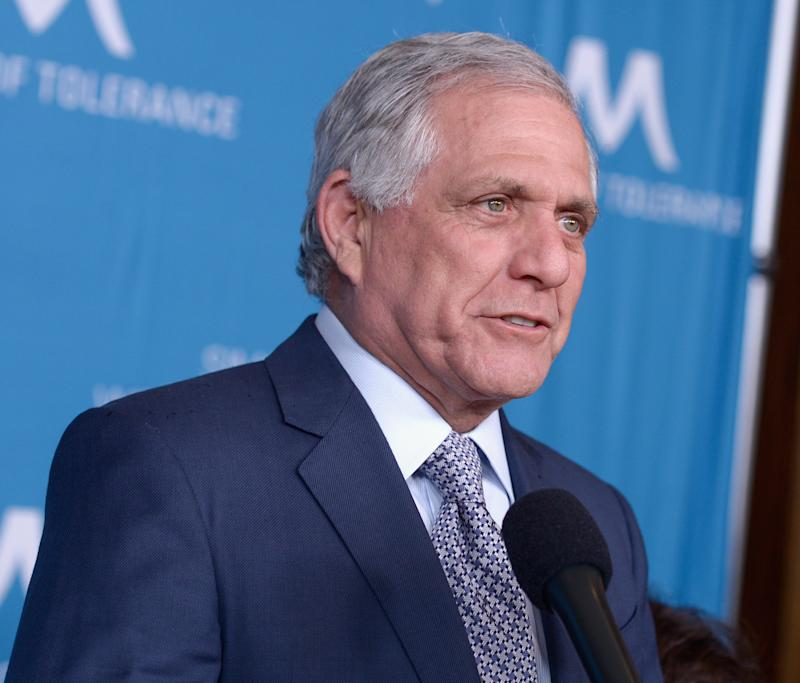 Les Moonves is honored at a dinner in Beverly Hills on March 22.