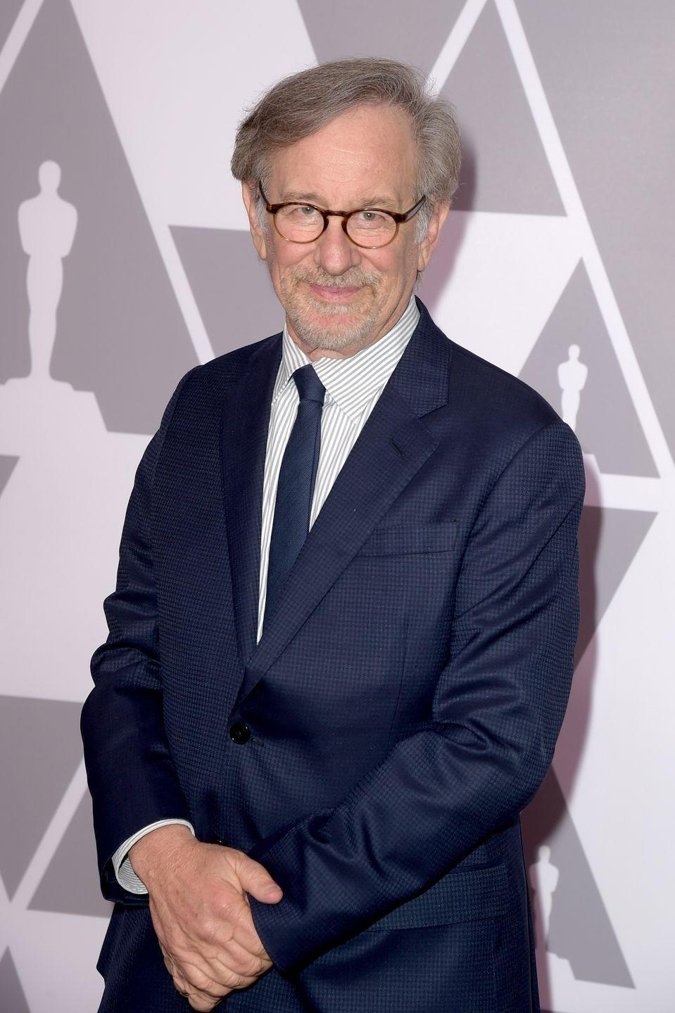 """<p>We wonder if Spielberg ever drew inspiration for his films from his time in the fraternity house? The <em>Jaws </em>director was a <a href=""""https://twitter.com/thetachiihq/status/1009118711578611712?lang=en"""" rel=""""nofollow noopener"""" target=""""_blank"""" data-ylk=""""slk:member of Theta Chi"""" class=""""link rapid-noclick-resp"""">member of Theta Chi</a> during his time as a student at California State University at Long Beach. </p>"""