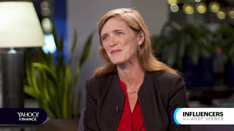 Samantha Power, former U.S. Ambassador to the United Nations, appears on Influencers with Andy Serwer.