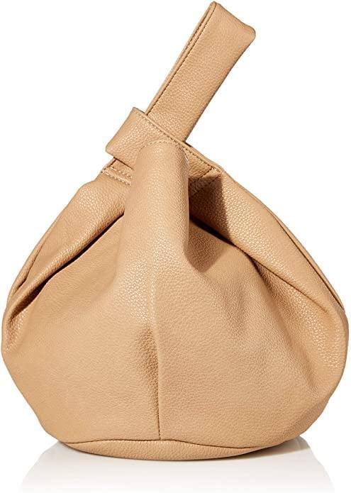 <p>But when I <em>do</em> go out, I like to have a bag that is cute on its own, can go with everything, and is spacious enough to hold all of my stuff. And by the looks of it, this <span>The Drop Women's Avalon Small Tote Bag</span> ($40) may tick off all of the boxes - and then some.</p>