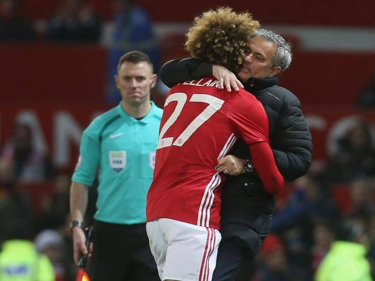Marouane Fellaini claims he is willing to break bones for Jose Mourinho has he plans Manchester United stay