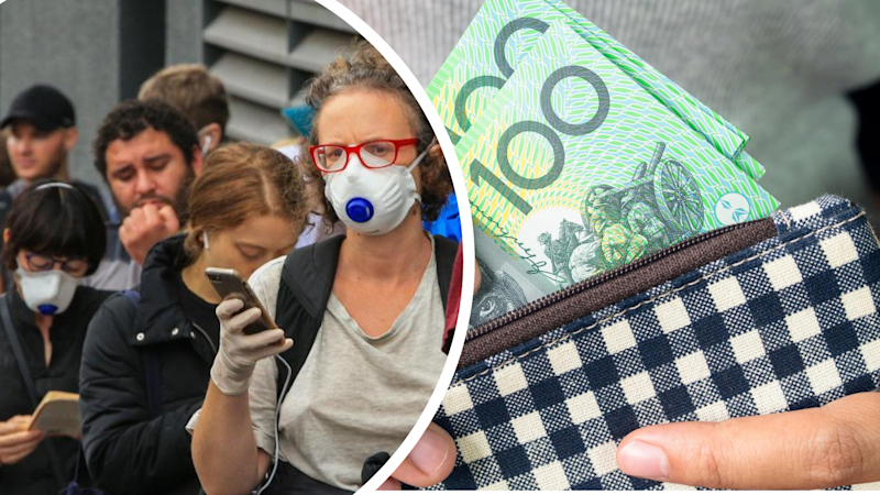 The $1,500 'disaster payment' could be extended to all Aussies. Source: Getty