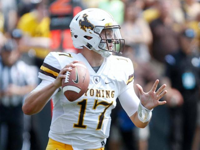 Josh Allen was a polarising draft prospect whose inaccuracy may cause him problems (Getty)