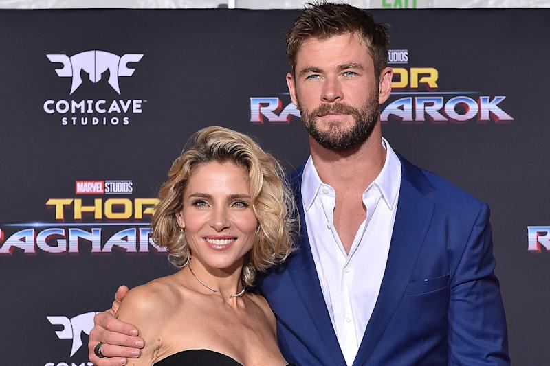 Chris Hemsworth's Wife Elsa Pataky Makes Daring Escape From Flood