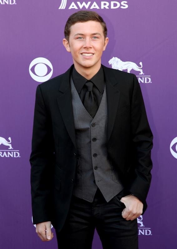SCOTTY MCCREERY Live from the RAM Red Carpet 47th Annual ACM Awards, Las Vegas, NV