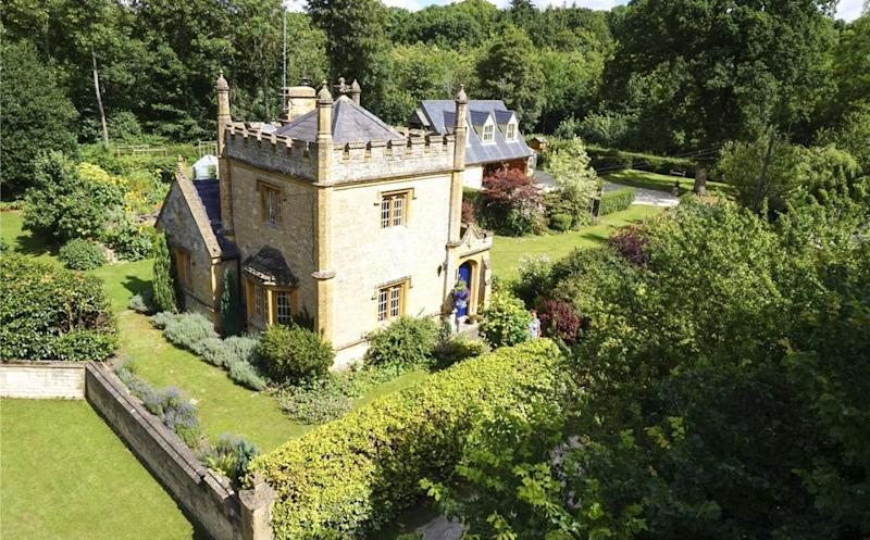Castle: The stunning 19th century building in the Cotswolds: Savills