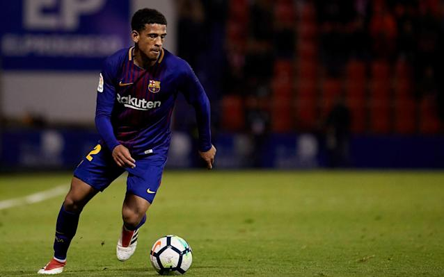 "Marcus McGuane will be back in training on Saturday on the pitches reserved for Barcelona B at the club's Ciutat Esportiva Joan Gamper, having taken one small step forward in his own career but planted a flag in significant new territory for young English footballers across Europe. The 19-year-old became the first Englishman to represent Barcelona, a club that have done more than any other to transform football in the 21st century, since Gary Lineker was one of their front line strikers between 1986 and 1989. In McGuane's case there has been a tendency to project him as something of a competition winner, an unknown teenager from Greenwich catapulted into the football aristocracy but the reality of his January move from Arsenal to Catalonia is different. Like many promising teenage junior England internationals languishing in Premier League development squads with little prospect of first-team action, there was a great deal of interest in McGuane whose contract at Arsenal was due to expire in this summer. He had interest from Juventus and there was an offer from the Serie A club Sassuolo to make him a first-team player immediately but at Barcelona he saw a career route that was irresistible. McGuane joined Arsenal's academy at Hale End at the entry level of seven years old and was one of his age-group's exceptional players throughout. In the summer after his 16th birthday in 2015, he signed a two-year scholarship with the guarantee of a pro deal when he turned 17 on Feb 2, 2016 and Arsenal would have offered him another deal after that to keep him. But increasingly, McGuane, an England international at Under-17, Under-18 and Under-19 level, realised that it was first-team opportunity that he needed. Barcelona might never have taken such a strong interest had he been one of the English junior system's many promising attacking players but instead McGuane fitted a profile Barca were specifically scouting. He is an athletic defensive midfielder with good technique and for the Barcelona B team that came back up to the second tier of Spanish football, McGuane was what was needed. Barca B, coached in the past by the likes of Pep Guardiola, Luis Enrique and Juande Ramos, have just spent two years in the third tier. Proud moment making my @FCBarcelona debut and to also win the Catalunya Supercopa���� #forçabarçapic.twitter.com/Xm7Ny1xhYp— Marcus McGuane (@marcusmcguane58) March 8, 2018 Currently 16th in a 22-team Segunda Division, it is right to say that they do struggle at times – but that is the point. They often field teams with an average age of around 19 who play league games against seasoned pros at famous clubs like Real Zaragoza and Osasuna. McGuane, friends say, is having to re-learn parts of his game to accommodate the Barcelona way. He has a four-and-a-half year contract and by the end of it, he recognises he may be a Barcelona player or he may not. But he is certain he will be a better player. He grew up in south-east London and played for the Republic of Ireland with eligibility through his grandparents from Limerick on the side of his mother Patricia. At Arsenal he worked under Kwame Ampadu, father of Chelsea's Ethan, when he was in the Under-18s side and was highly-rated by the club's then academy director Andries Jonker. McGuane switched from Ireland to England in 2015 and he was first coached in the Under-17s by Steve Cooper, the Welshman originally from Liverpool's academy who won that age-category's World Cup last summer. Marcus is a serious footballer and a serious lad and he is very mature for his age,"" Cooper told The Telegraph. ""He is competitive and very focused on his role in the team. Barcelona will be looking at him as a No6. I am not surprised he has taken this challenge on. It's a no-brainer. He will very much embrace what he needs to learn and to adapt. ""They play a very positional game and I can see him learning that and thriving on it. I hope he does well, it will be good for everyone in English development football. I am sure he is not getting carried away."" Marcus McGuane was given 12 minutes of first-team football by Arsenal in the Europa League, 11 against BATE Borisov and one, here, against Red Star Belgrade Credit: Stuart MacFarlane/Arsenal FC via Getty Images At Arsenal, McGuane was a contemporary of the striker Eddie Nketiah and Reiss Nelson, who played up a school year. They were a very strong group of players and were all offered professional deals with McGuane finally tasting first-team action before Christmas when he came on for brief substitute performances in Europa League group games against BATE Borisov and Red Star Belgrade. The feeling at the club was that anther young Englishman, Joe Willock, who played in McGuane's position, was a better option. For years, English clubs at the elite end have stockpiled players on the basis that while their development might be stalled, their contracts will keep them loyal. In McGuane's case it was different and he felt that there was no prospect of advancing at Arsenal. At Barcelona he is playing second division football in a good league against clubs competing to get into the Liga top-flight. Barca B cannot be promoted for obvious reasons, but they consider the league to be excellent preparation for their youngsters. �� The first words of Marcus McGuane as a Barça player / Les primeres paraules de Marcus McGuane com a nou jugador del @FCBarcelonaB / Las primeras palabras de Marcus McGuane como nuevo jugador azulgrana #BarçaB#ForçaBarça@LaLigapic.twitter.com/BZ8ze2RwWf— FC Barcelona B (@FCBarcelonaB) January 30, 2018 McGuane is one of a new generation of English players who have gone overseas for first team experience, including Jadon Sancho at Borussia Dortmund; Reece Oxford on loan from West Ham at Borussia Monchengladbach; Mandela Egbo at the same German club; Chris Willock, brother of Joe, at Benfica. The penny seems to be dropping that a lucrative Premier League contract at 17 is not worth as much as the opportunity to build a much longer, sustainable top-flight career elsewhere. Barcelona have helped McGuane find somewhere to live close to the training ground and he has played four times for Barca B since moving in January. Last night's Catalan Supercopa final win over Espanyol is considered a senior appearance by the club itself. He is described as a serious, committed young footballer who hired a coach to begin his own pre-season privately last summer and so far it has paid off, although he would be the first to acknowledge there is a long way to go."