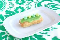 "<p>As if eclairs couldn't get any more tasty, this recipe swaps your standard chocolate fair for a citrus filling topped with Lucky Charms.</p><p><em><a href=""https://www.goodhousekeeping.com/food-recipes/a15656/lucky-charms-eclairs-recipe-ghk0314/"" rel=""nofollow noopener"" target=""_blank"" data-ylk=""slk:Get the recipe for Lucky Charm Eclairs »"" class=""link rapid-noclick-resp"">Get the recipe for Lucky Charm Eclairs »</a></em></p>"