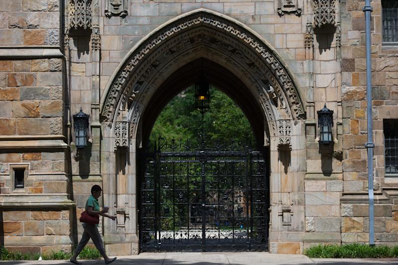 Yale University is one of several Ivy League schoolsfighting union campaigns by graduate students.