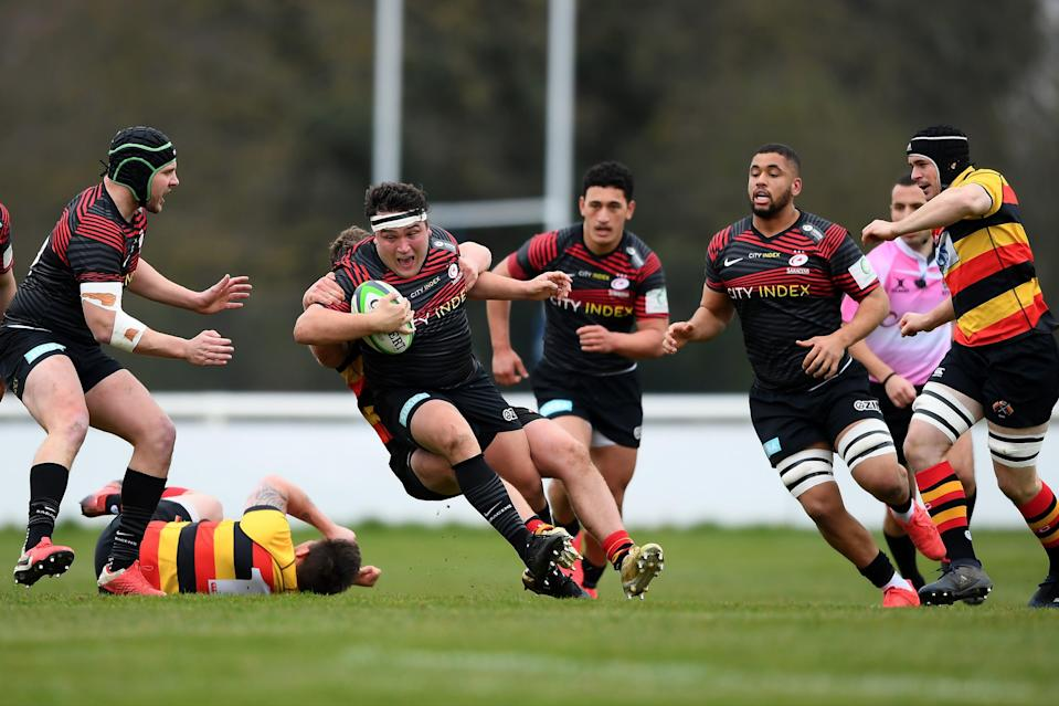 <p>Jamie George cannot wait for Saracens fans to return</p> (Getty Images)