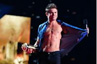 <p>I mean, are we even surprised that Zac won the award for Best Shirtless Performance for his role in <em>That Awkward Moment </em>at the 2014 VMAs??? (Nope, not at all.)</p>