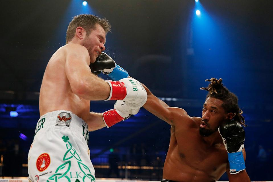 Demetrius Andrade stopped Luke Keeler in a dominant display in January 2020Getty Images