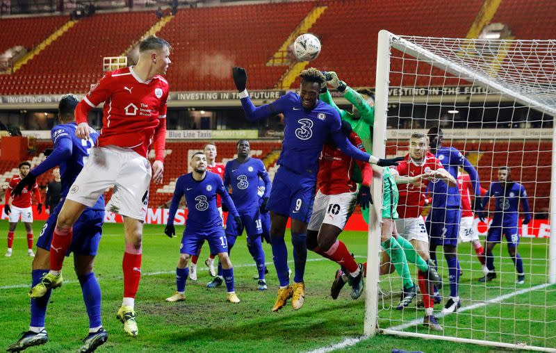 FA Cup - Fifth Round - Barnsley v Chelsea