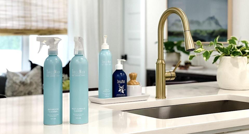 ThreeMain Cleaning Products